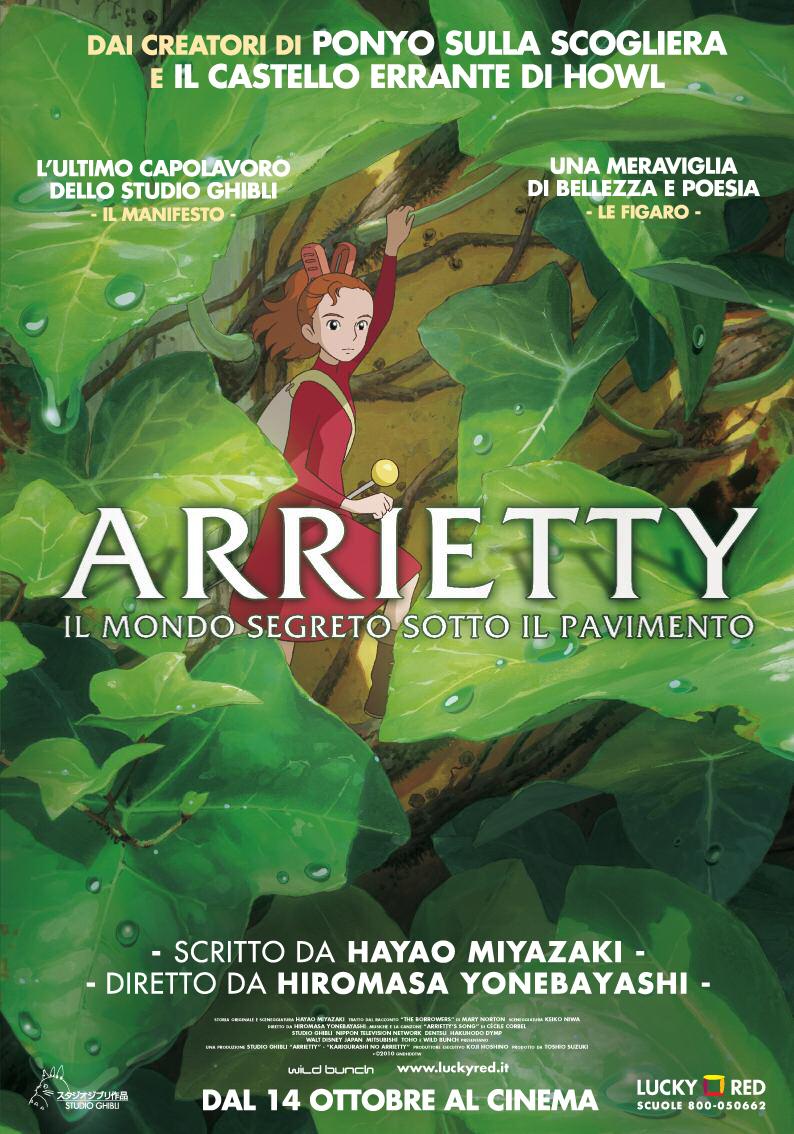 Arrietty Locandina